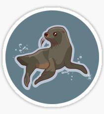 New Zealand Marine Animals - Sea Lion Sticker