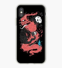 Death Of The Fire Demon iPhone Case