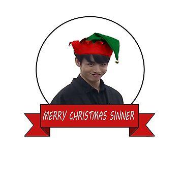 Jk Feliz Navidad de kaptenzissou