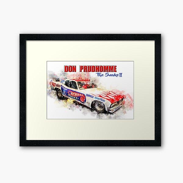 Don Prudhomme, The Snake 2 Framed Art Print