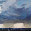 Double Rain Clouds  by Pamela Burger