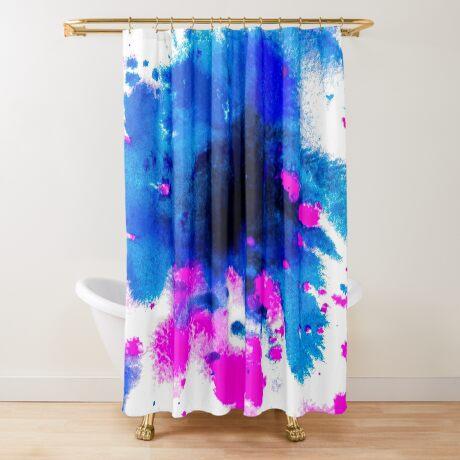 BAANTAL / Patch #6 Shower Curtain