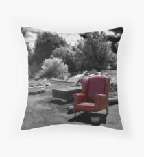 IF I COULD TALK Throw Pillow