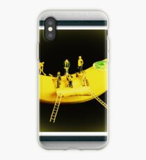 Banana Boat Mining Company - Black Frame iPhone Case