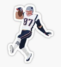Rob Gronkowski Patriots Sticker