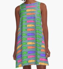 Unhealthy Carrots A-Line Dress