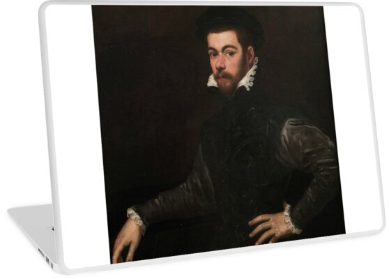 Portrait of a Gentleman by Tintoretto by classicartcache