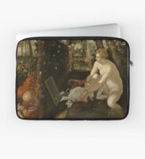 Susanna and the Elders by Tintoretto Laptop Sleeve