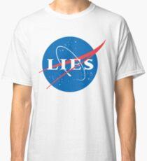 NASA LIES LOGO Classic T-Shirt