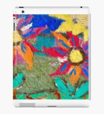 Wool Flowers iPad Case/Skin