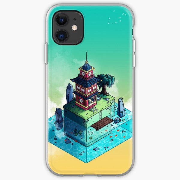 Lone Temple iPhone Soft Case