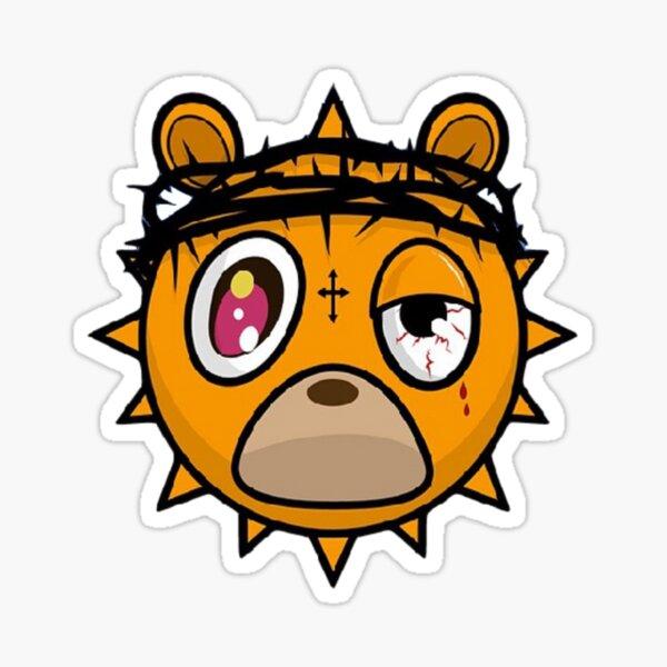 Glo Gang Bear Sticker