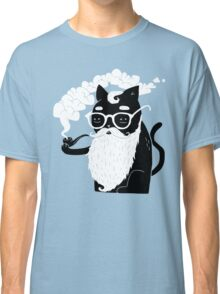 Whiskers And Pipe Classic T-Shirt