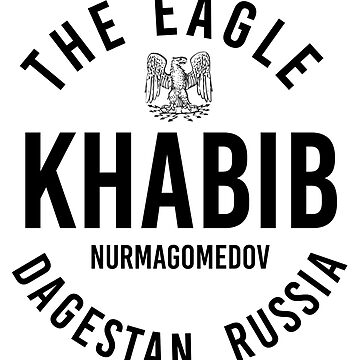 Khabib Nurmagomedov The Eagle UFC MMA Dagestan Russia by CageRepublic