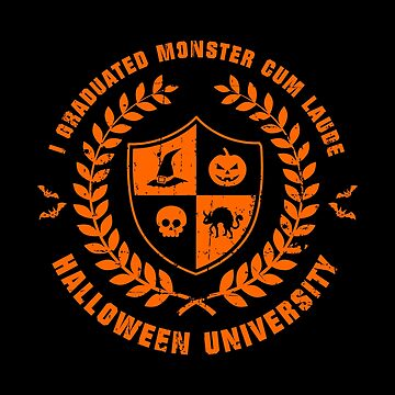 Halloween University (Worn Orange) [Roufxis-RB] by RoufXis