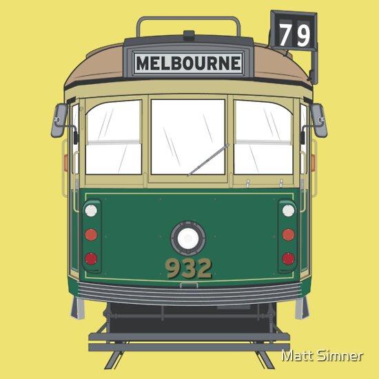 TShirtGifter presents: Melbourne Heritage Tram