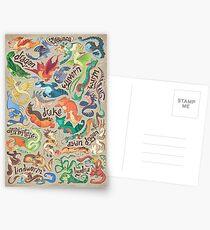Mini dragon compendium  Postcards