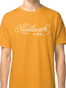Needlework (white) Classic T-Shirt