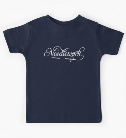 Needlework (white) Kids Clothes
