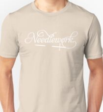 Needlework (white) Unisex T-Shirt