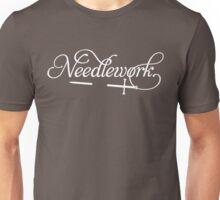 Needlework (white) Unisex T-Shirt