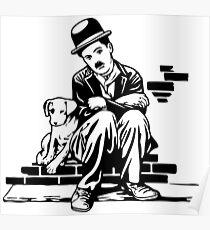 Charlie Chaplin The Kid 192, Poster Artwork Design For Men, Women, Kids Poster