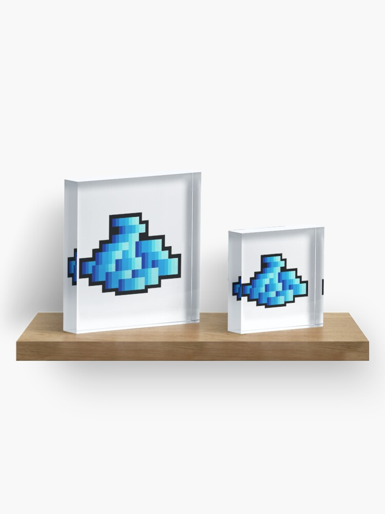 Alternate view of Crystal Coins Tibia Acrylic Block