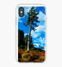 Lone Sentinel in Paradise iPhone Case