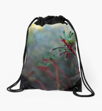 Kangaroo Paw Drawstring Bag