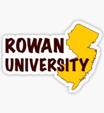 Rowan University Sticker Sticker