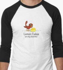 Lemon Cakes are my favorite! Men's Baseball ¾ T-Shirt