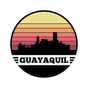 Guayaquil Skyline (Ecuador) by SvenHorn