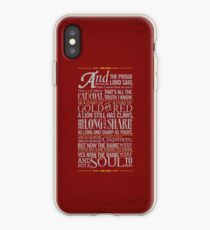 The Rains of Castamere iPhone Case