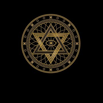 Freemason, Occult, Magic, Alchemy, Sacred Geometry, Pagan, and  Illuminati Mandalas Gifts and Apparel  by manbird