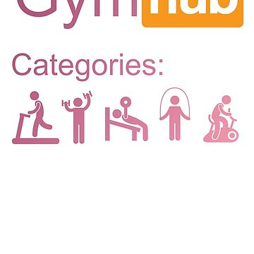 Gymhub Sport Sports Gym Training Motivation Workout by Manqoo