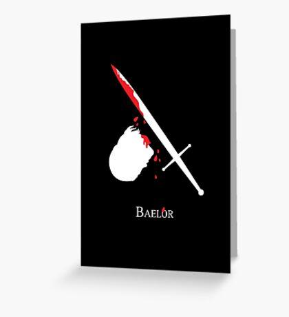Baelor Greeting Card