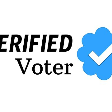 Verified Voter ✓ by misterpillows