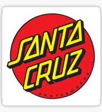 Santa cruz logo sticker case shirt Sticker