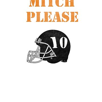 Mitch Please Mitchell Trubisky Chicago Bears  by djon31