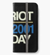 Proud to be American! 9-11-2001 We Will Never Forget - Patriot Day iPhone Wallet/Case/Skin