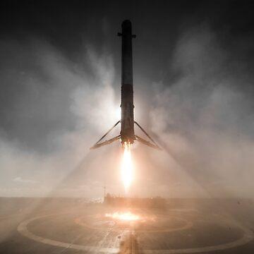 SpaceX Iridium-1 Landing by bobbooo