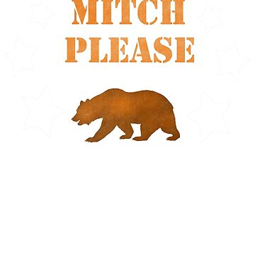 Mitch Please Shirt Mitchell Trubisky Chicago Bears  by djon31