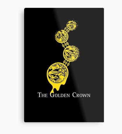 The Golden Crown Metal Print