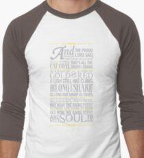 The Rains of Castamere Men's Baseball ¾ T-Shirt