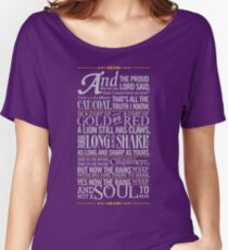 The Rains of Castamere Women's Relaxed Fit T-Shirt