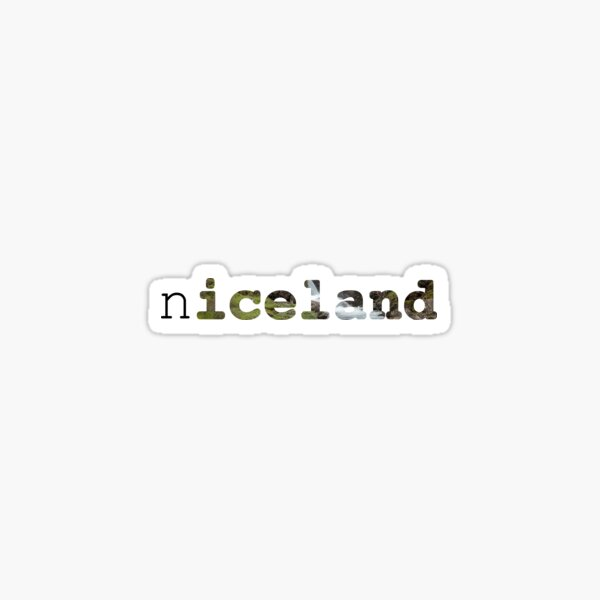 n(iceland) Sticker