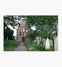 Beauly Priory, Inverness-shire, Scotland Photographic Print
