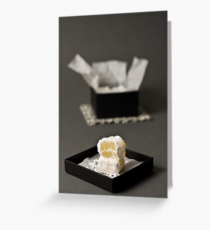 Turkish Delight or Loukoum Greeting Card