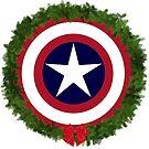 CaptainAmerica Christmas by stevendrowe