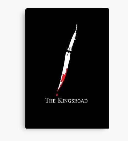 The Kingsroad Canvas Print